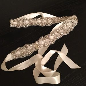 Accessories - Embellished Wedding/Dress belt